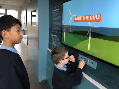 IWEA Education children visit Mountlucas wind farm in Offaly